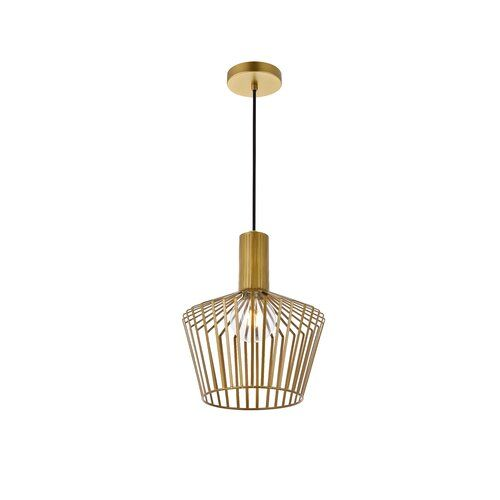 Grindle 1 Light 13 5 Unique Statement Dome Semi Flush Mount In 2021 Single Pendant Lighting Light Lantern Lights