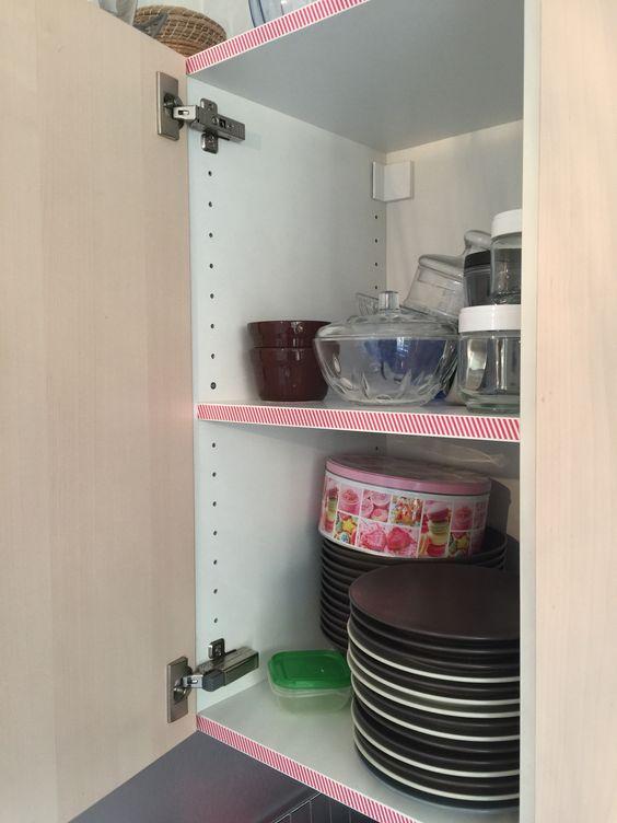 Comment décorer rapidement sa cuisine ? Un petit coup de masking tape et c'est bon !