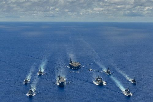 Australia Japan Join U S For Trilateral Naval Exercise Commander U S Pacific Fleet In 2020 Royal Australian Navy Naval Naval Force