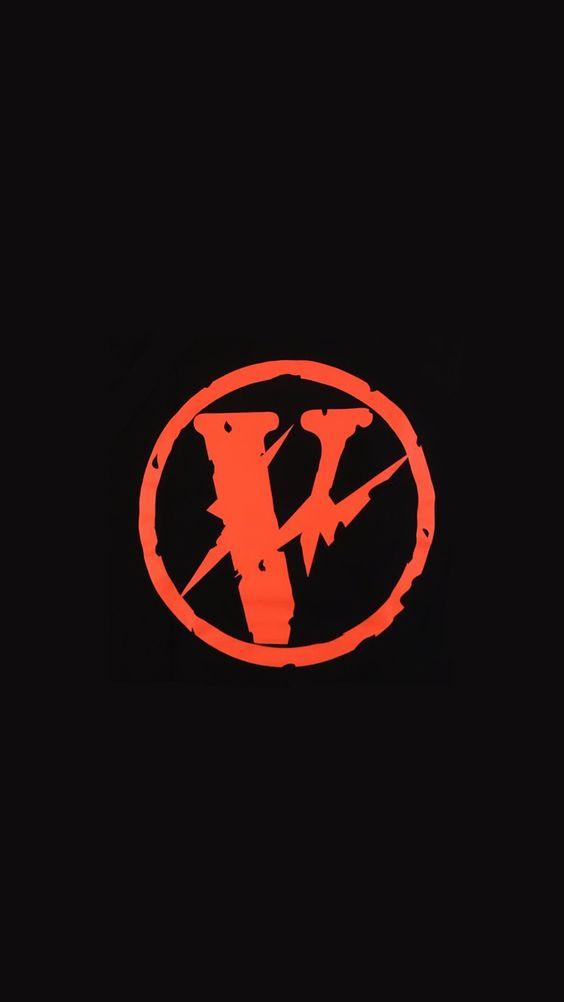 Vlone Red Orange Wallpaper Vlone Logo Hype Wallpaper Hypebeast Wallpaper