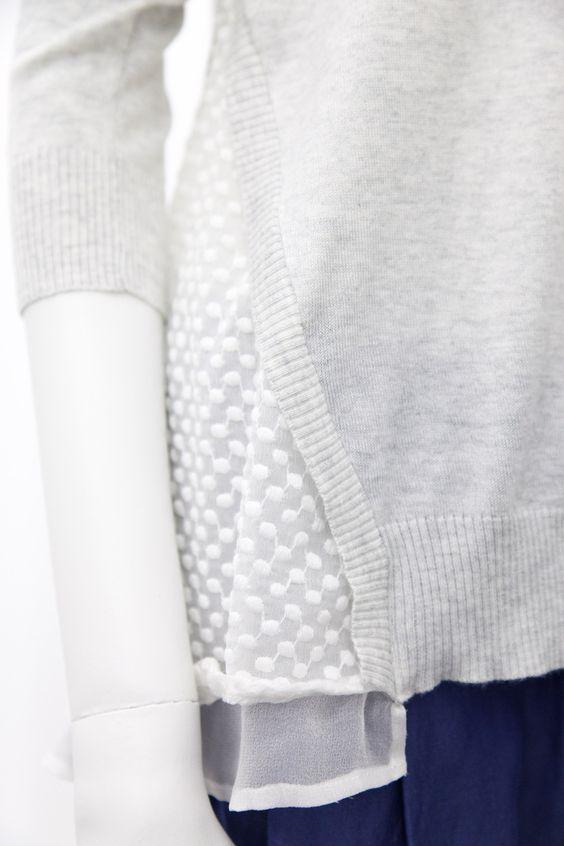 Clu - Ruffled Pullover, $384.00 (http://www.cluusa.com/ruffled-pullover/)
