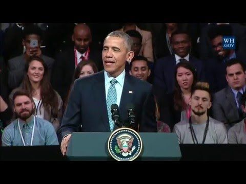 President Obama Holds a Town Hall - YouTube