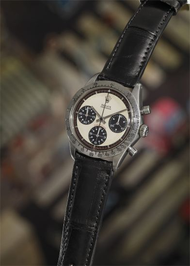 "Original Rolex ""Paul Newman"" Daytona worn by Paul Newman himself, 1968"