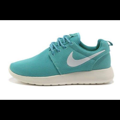 Nike Roshe Run 511882 340 Niebieskie Biale Damskie Nike Free Nike Roshe Run Nike Free Shoes