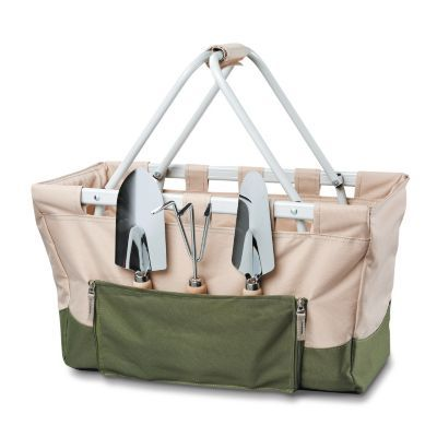 The Garden Metro Basket with 3-Piece Tool Set is a garden tote with style - and 3 handy, durable tools!