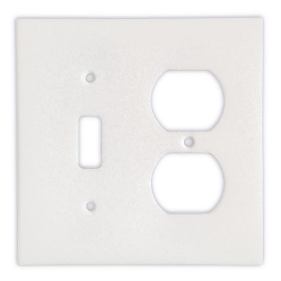Thassos White Marble Toggle Duplex Switch Wall Plate Switch Plate Cover Polished Plates On Wall Switch Plate Covers Plate Covers