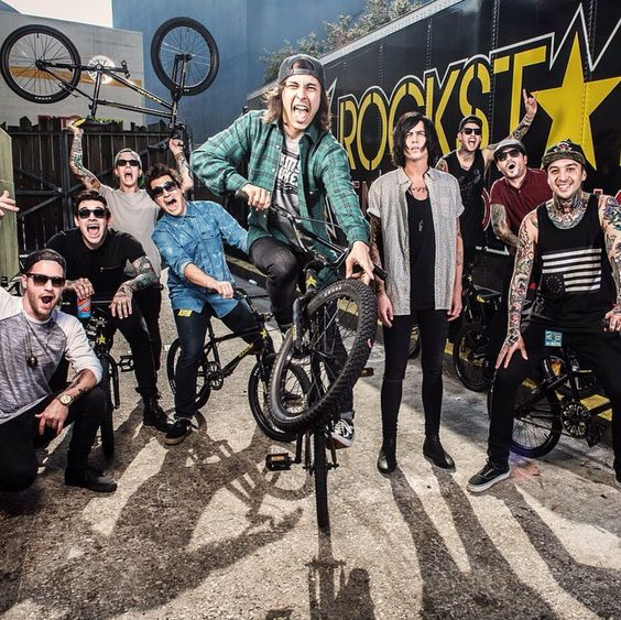 Pierce the Veil and Sleeping with Sirens