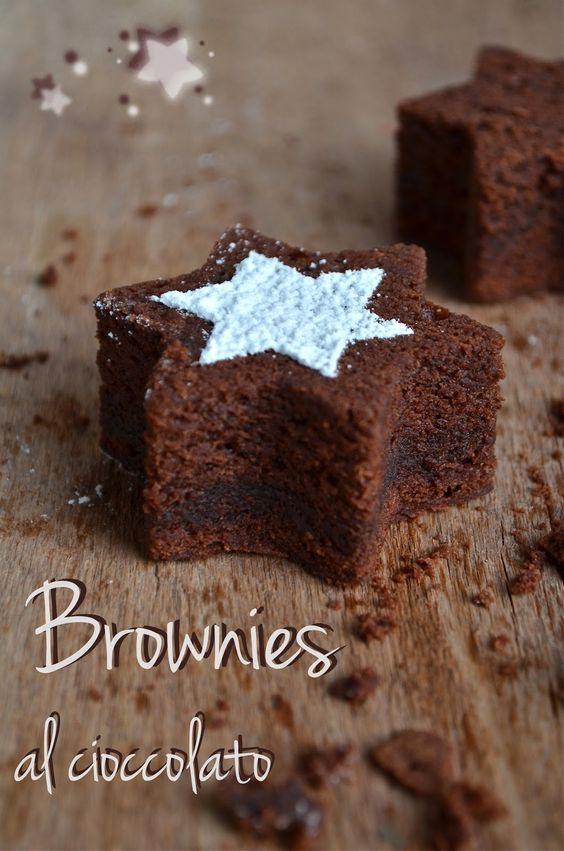 """""""Gennaio"""" {#Vogliadi…#cioccolato} – Brownies al cioccolato - Chocolate brownies"""