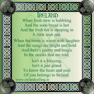 Irish quotes! Ireland a place I really want to go !