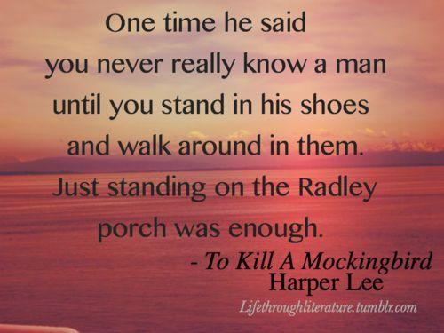 To Kill A Mockingbird .. HELP from any english teachers or deep thinkers!!!!?