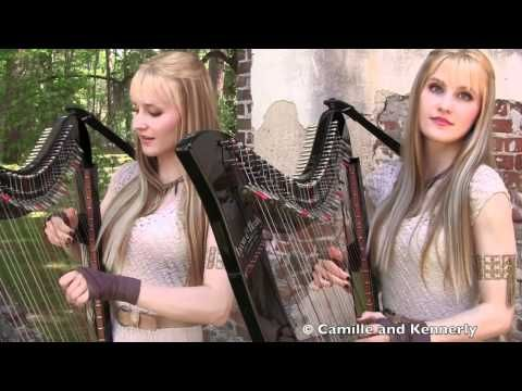 Game of Thrones Theme (Electric Harp Duet) Camille and Kennerly, Harp Twins (vía @Inti Acevedo)