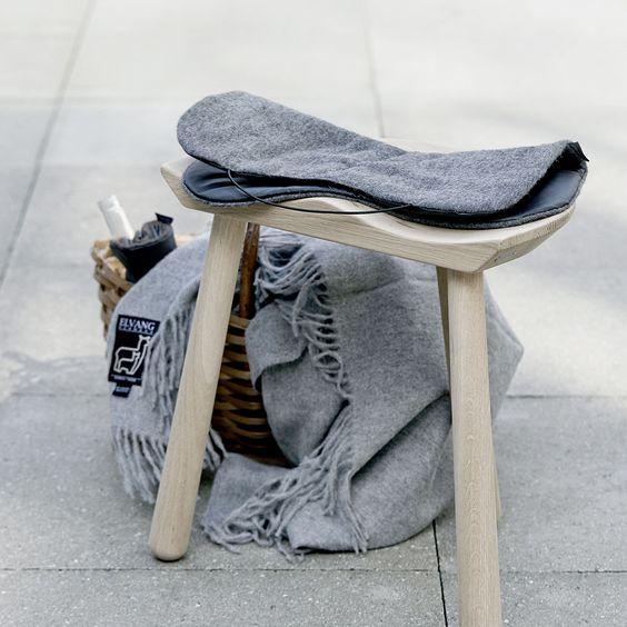 Elvang Multifunctional Picnic Alpaca Wool Seat Pad 超輕量 攜帶型 羊駝毛 個人坐墊