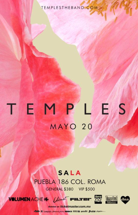 TEMPLES vuelve a México