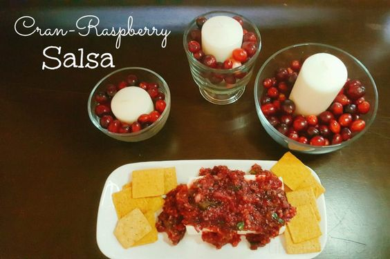 Cranberry Raspberry Salsa