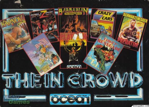 Ocean's 'The In Crowd' Collection - Amstrad - 1988