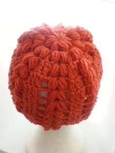 Gorro con punto esponjoso 1 (Puff stitch hat)