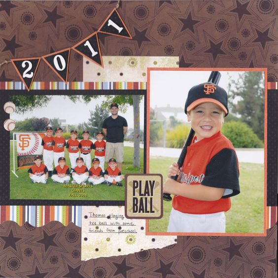 Play Ball - Scrapbook.com