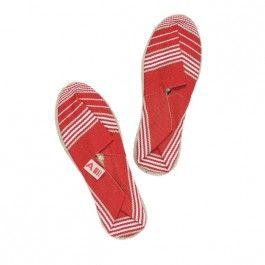 Espadrilles enfant #children #red #white #shoes #summer #beach