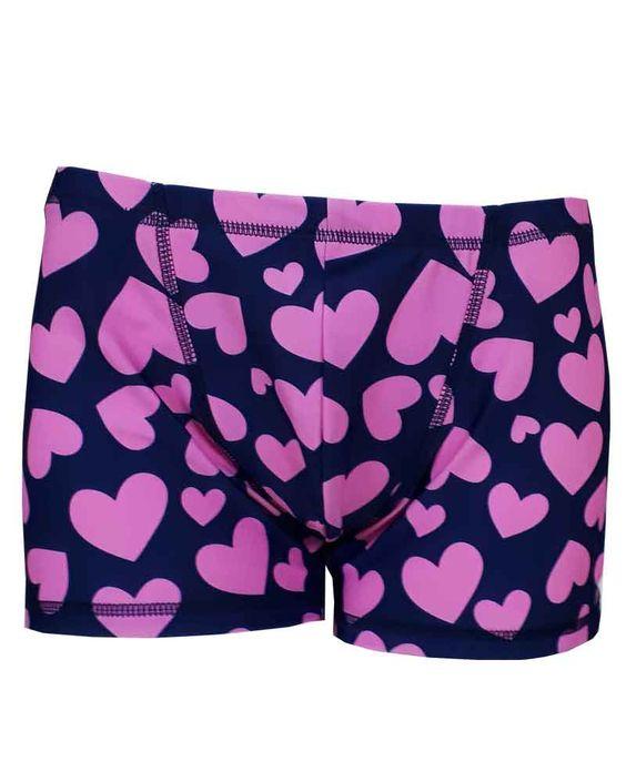 Mens Pink Hearts Shorts Hot Yoga Wear Mens Yoga Shorts Yoga Wear