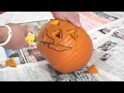 How to make a jack o lantern with Marty Moose - YouTube