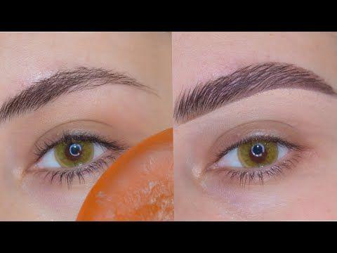 Soap Brows طريقة رسم الحواجب وترتيبها باستخدام الصابون Youtube Makeup Youtube