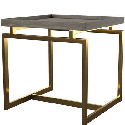 Tabetha Solid Coffee Table Modern Side Table Modern Furniture