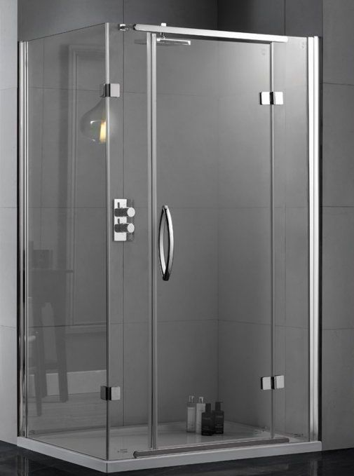 Aquadart Inline Hinged 2 Sided Shower Enclosure 1200 X 900 Aq1021 Aq1021 Shower Enclosure Shower Stall Shower