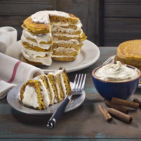 Pumpkin Pancake Cake