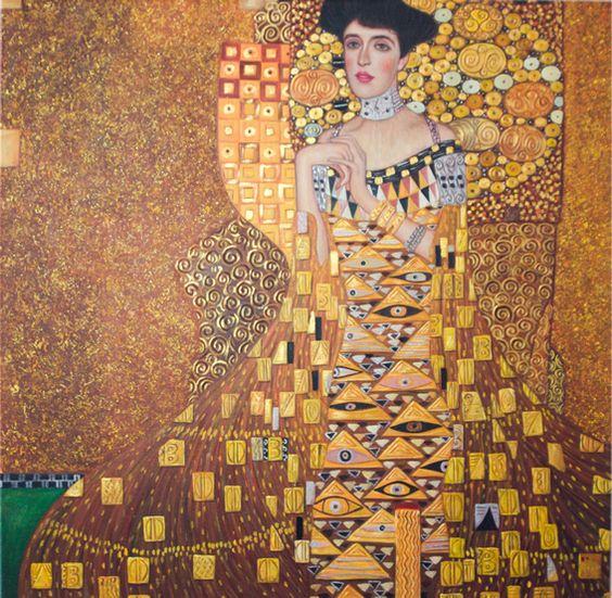 Bildnis Adele Bloch-Bauer I von Gustav Klimt