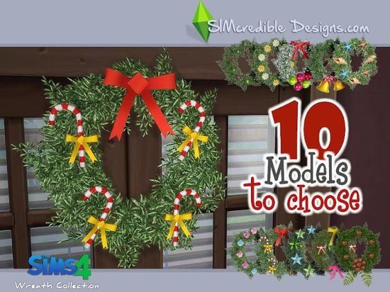 Sims 4 CC's - The Best: Wreath Collection by SIMcredible!