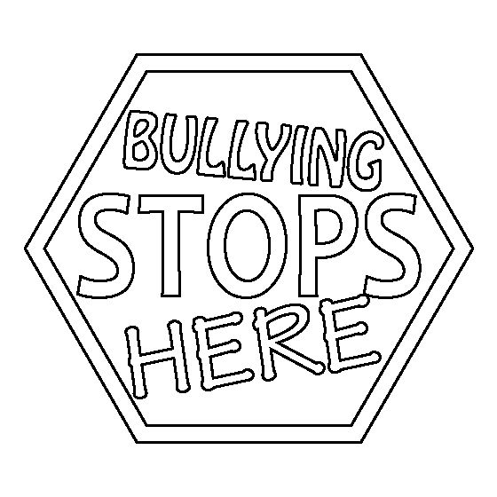 bullying and teasing coloring pages - photo#31