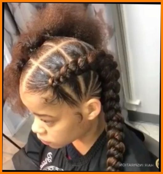 Easy Hairstyles For Short Hair For School Black Girl Braided