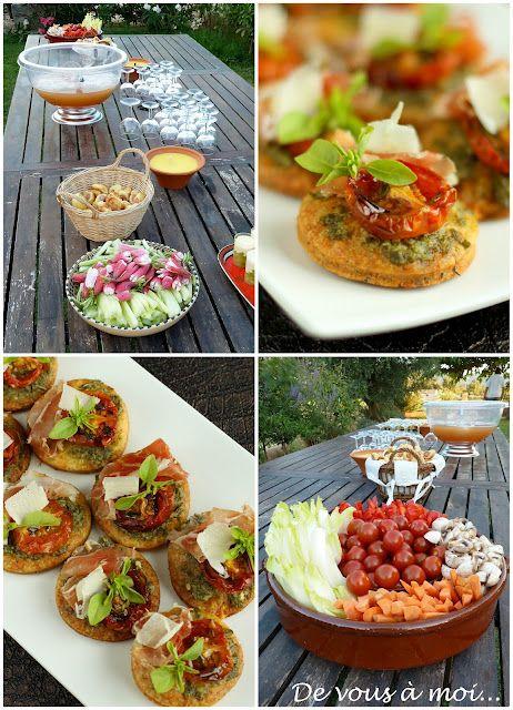 De vous moi les buffets d 39 et quelques id es pour l 39 ap ritif recettes cuisiner - Idee d aperitif dinatoire ...