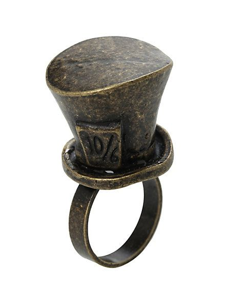 Disney Alice In Wonderland Mad Hatter Ring | Hot Topic: