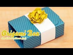 Stampin UP! Origami Box mit Anleitung