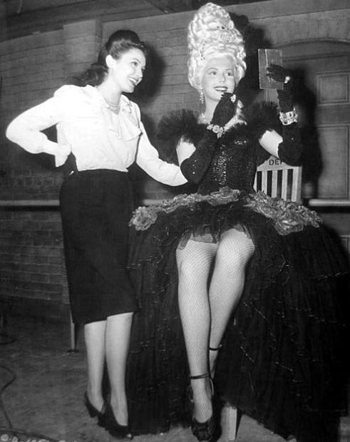 Linda Darnell and Ann Miller