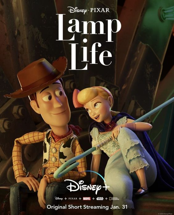 The Poster For The New Disney Pixar Short Lamp Life Em 2020 Curtas Da Pixar Brinquedo Historia Filmes