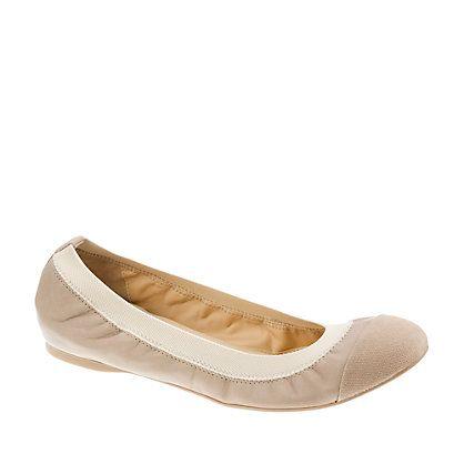 mila ballet flats from jcrew