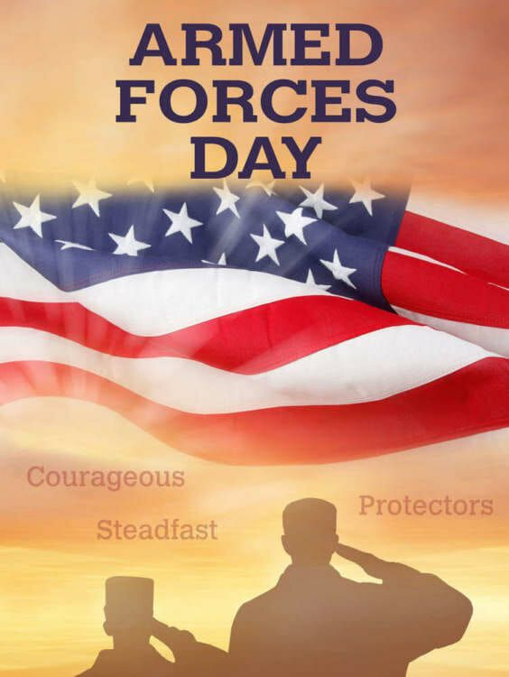 Armed Forces Day Is Celebrated On The Third Saturday In May This Year It Will Be Celebrated On Saturday Ma Armed Forces Veterans Day Quotes Military Benefits