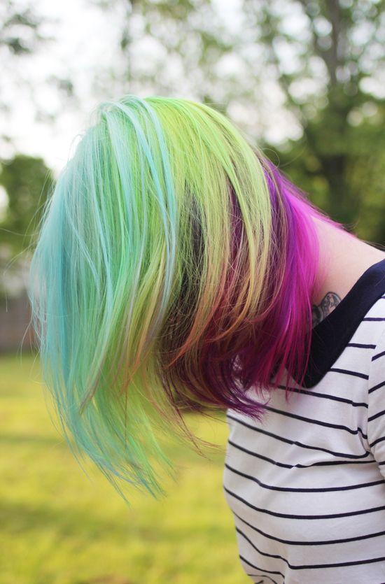 {she's got my little pony hair} so very pretty. daintysquid.com