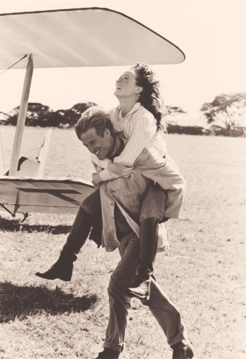 Meryl Streep and Robert Redford, Out of Africa