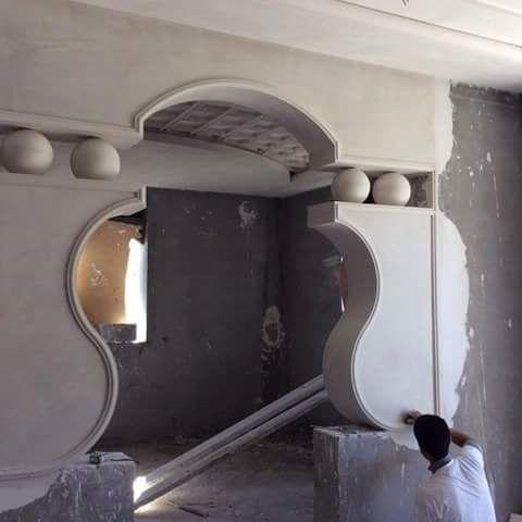ديكورات اقواس جبس 2017 مغربية في منتهى الجمال House Arch Design Ceiling Design Modern House Main Gates Design