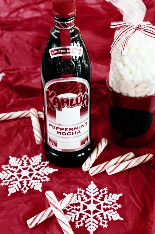 Recipe: Kahlua Peppermint Mocha Hot Chocolate | Peppermint Mocha and ...