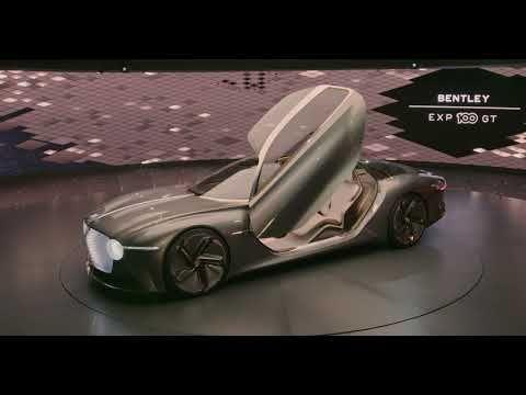 Bentley Exp 100 Gt Concept Car Reveal Highlights Bentley
