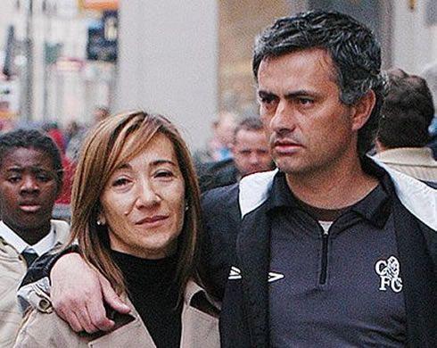 Matilde Farie; Mourinho's wife
