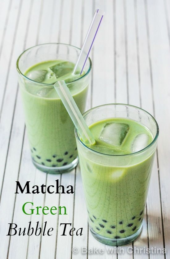 Bubble tea, Matcha and Tapioca pearls on Pinterest