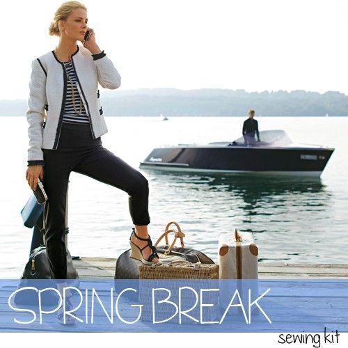 Spring Break Sewing Kit   InterweaveStore.com