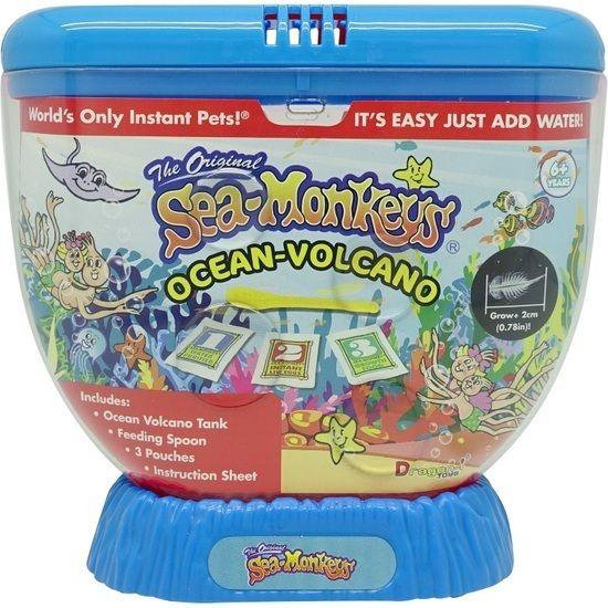 Sea Monkeys Ocean Volcano Blue Sea Monkeys Toys Novelty Gifts