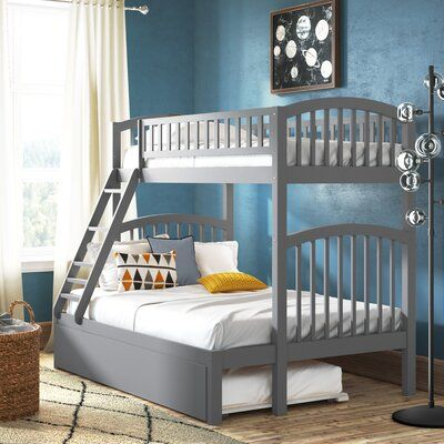 Viv Rae Whitbeck Twin Bed Wayfair In 2020 Full Bunk Beds Bunk Beds Loft Spaces