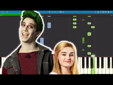 Disney S Zombies Someday Piano Tutorial Milo Manheim Meg